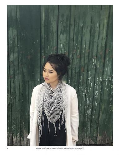 Mistake Lace Shawl (Modelled)