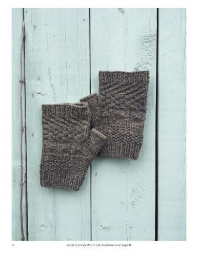 Simple Guernsey Mitts